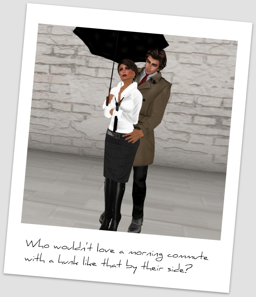 Second Life Fashion - Can't Rain All the Time